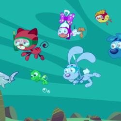 Giornata mondiale degli oceani: il video per bambini con i Mini Cuccioli e la delfina Blue Federica Brignone